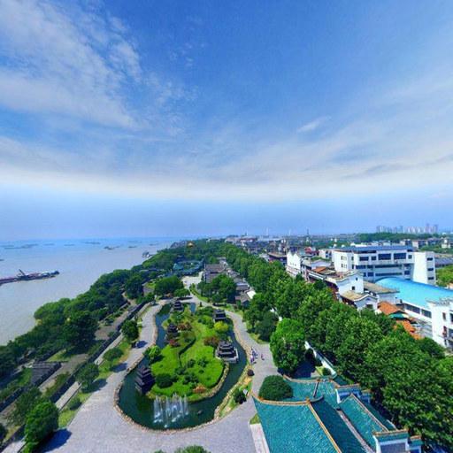 海滨小镇风景欣赏